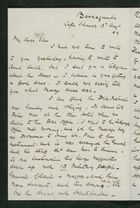 Letter from Robert Anderson to Edith Thompson, August 13, 1889