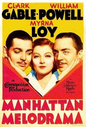 Manhattan Melodrama (1934): Continuity script