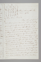 Letter from Sarah Pugh to Maria Weston Chapman, September 19, 1864