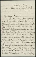 Letter from Louisa Anne Meredith to Edith Thompson, January 15, 1888