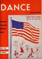 Dance Magazine, Vol. 17, no. 8, July, 1943