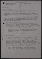 Consultative Document on Sheltered Employment, January 1974