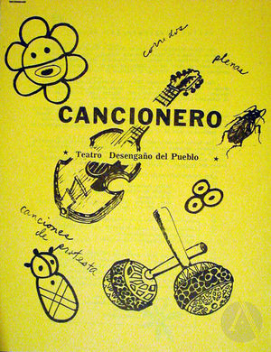 Manuscript of the Teatro Desengano del Pueblo's Cancionero.