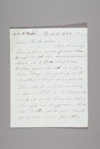 Letter from Sarah Pugh to Richard D. Webb, October 24, 1852