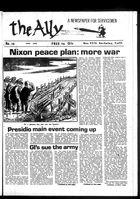 Ally: A Newspaper for Servicemen, The Ally, Vol. 1 no. 15, April 1969