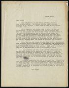 Letter from Ruth Benedict to Morris Opler, October 8, 1931