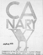 Canary  - July/August, 1973