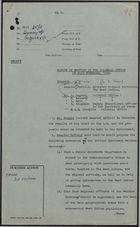 Colonial Office Minutes re: Draft of Meeting in Colonial Office, November 24, 1958