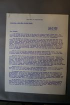 Letter from Dorothy Height to Committee of Correspondence, March 10, 1960