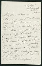 Letter from James Winter to Samuel Pratt Winter, October 4, 1866
