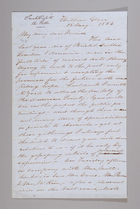 Letter from Sarah Pugh to Richard D. and Hannah Webb, May 18, 1854