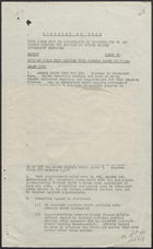 Copy of Cable from British Food Mission re: Animal Feeds, 23.11.44