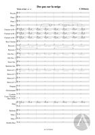 Des Pas Sur La Neige' from Préludes Book 1, arranged for Symphonic Band, L. 117