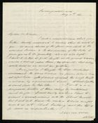 Letter from Francis Russell to Samuel Pratt Winter, May 11, 1861