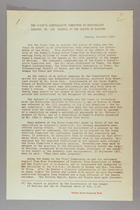 Report of the Women's Consultative Committee on Nationality... on Nationality of Women: Convention on the Nationality of Women Concluded on 26 December 1933 at the Conference of American States at Montevideo (24 September 1935) and Draft Resolution on the Status of Women (25 September 1935)