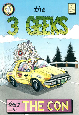The 3 Geeks, no. 1