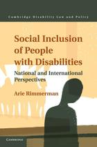 Cambridge Disability Law and Policy Series, Social Inclusion of People with Disabilities: National and International Perspectives