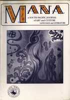 MANA: A South Pacific Journal of Language and Literature, Vol. 12, No. 1