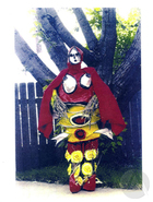 Photo of dress used as the genesis for The Woman Who Was a Red Deer Dressed For The Deer Dance by Diane Glancy.
