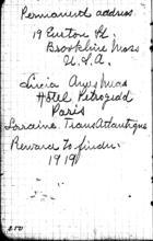 Diary 1919 - [No. 2]