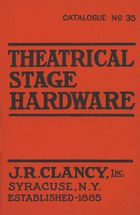 Catalogue of Theatrical Stage Hardware, no. 35