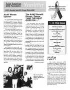 Asia American AIDS Foundation Newsletter