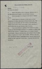 Cable to British Food Mission, Washington, May 2, 1946