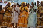 Candomble Devotees Celebrating Iemanja Festival in Rio Vermelho (photo)