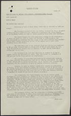 Cables from British Food Mission - Washington for Maurice I. Hutton From Herbert Broadley,  25.4.46