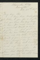 Letter from Charlotte Hearn to Edith Thompson, December 23, 1884