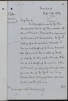 Copy of Letter from Francis Clare Ford to Marquis of Salisbury re: Correspondence with Spanish Foreign Minister on Duties on Spanish Wine in Jamaica, February 13, 1887