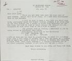 Correspondence Between Raymond Firth and Jock Lim, 1979-1980