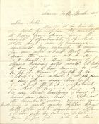 Letter from Jefferson Finis Davis, January 6, 1862