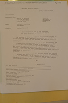 Memo from Donald K. Steinberg re: Rwanda Statement, April 27, 1994