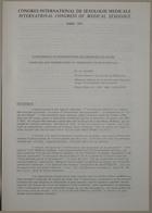 Congrès International de Sexologie Médicale- International Congress of Medical Sexology (Abortion and Termination of Pregnancy In Switzerland - Avortement Et Interruption De Grossesse En Suisse) - Paris 1974