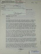 Copy of letter from Armin H. Meyer to Theodore L. Eliot (U.S. Department of State), re: Military sales to Iran, August 12, 1966