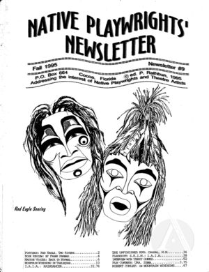 Native Playwrights' Newsletter, #9 Fall 1995
