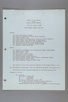 Minutes of the Meeting of the Africa Program Committee, June 20, 1958