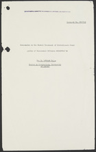 Committee On Homosexual Offences And Prostitution: Papers 82-109
