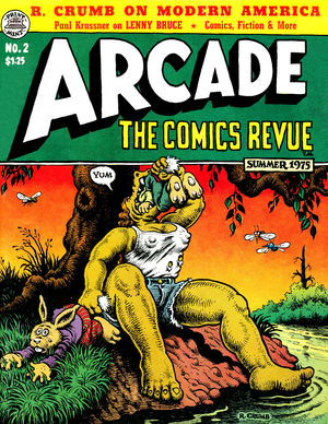 Arcade, The Comics Revue, no. 2