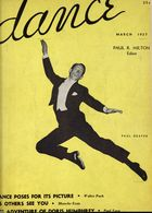 Dance (Magazine), Vol. 1, no. 6, March, 1937, Dance, Vol. 1, no. 6, March, 1937
