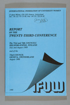 Report of the Twenty-Third Conference: The 73rd and 74th Councils at Helsinki-Espoo, Finland, July and August 1989 and of the 72nd Council, Geneva Switzerland, August 1988