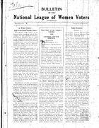 Bulletin, vol. 2 no. 5, December 1928