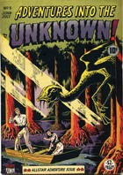 Adventures Into the Unknown no. 5