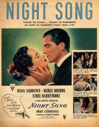 Night Song (1948): Shooting script