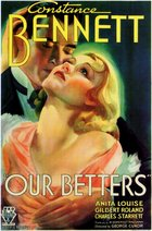 Our Betters (1933): Shooting script