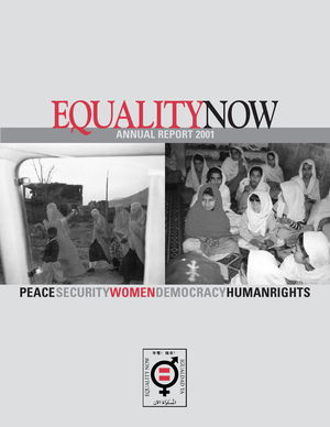 Equality Now: Annual Report 2001