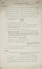 Additional Notes from 1952-53 (