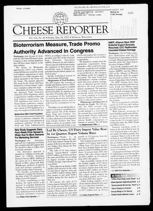 Cheese Reporter, Vol. 126, No. 46, Friday, May 24, 2002