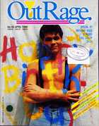 OutRage: Australia's Gay News Magazine - No. 59, April 1988